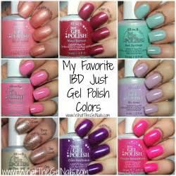 ibd gel colors my top 10 favorite ibd gel colors