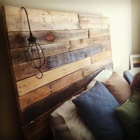 A Headboard Out Of Pallets by 40 Recycled Diy Pallet Headboard Ideas 99 Pallets