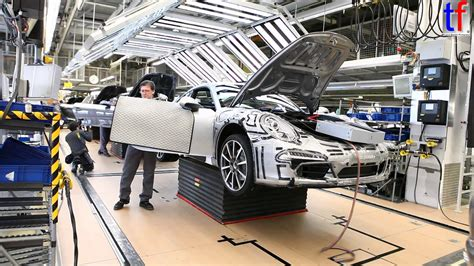 Porsche Stuttgart Factory by Porsche Factory Porsche 911 Carrera S On Production