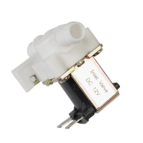 Solenoid Valve Plastik 12volt plastic electric small appliances solenoid valve normally closed 12 volt dc in electronics
