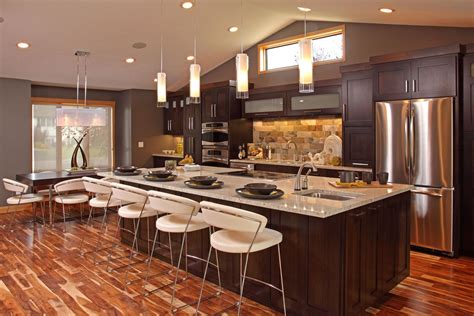 open galley kitchens with islands kitchen all in open