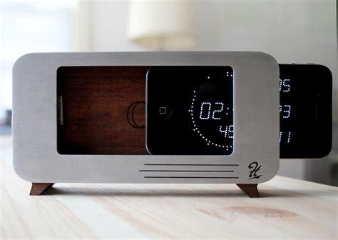 c dock iphone dock doubles as alarm clock gadgetsin