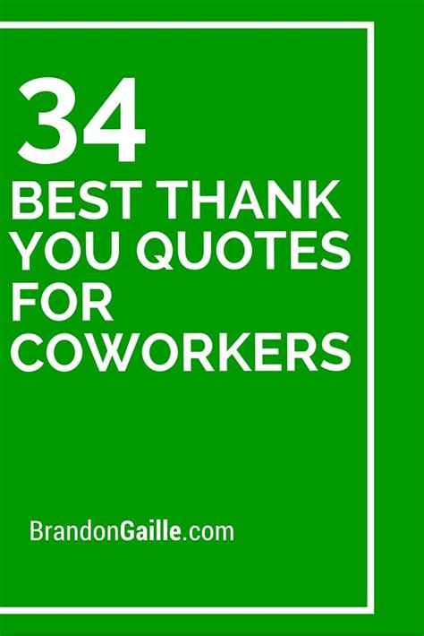 34 best thank you quotes for coworkers thank you quotes
