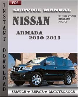 car service manuals pdf 2010 nissan armada on board diagnostic system nissan armada 2010 2011 service manual pdf download servicerepairmanualdownload com