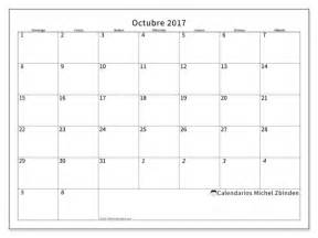 Calendario De Octubre Calendarios Para Imprimir Octubre 2017 Argentina