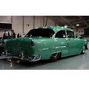 Extremely Stylish 1955 Chevy Bel Air Pro Street With 454 BB