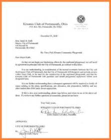 A Letter Of Agreement Between Two 5 Contract Letter Between Two Bussines 2017