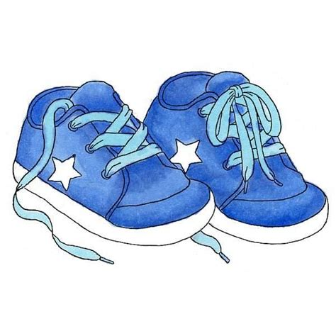 Baby Shoes Clipart 67 best images about shoes for babies illustrations on