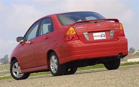2004 Suzuki Aerio Mpg 2004 Suzuki Aerio Curb Weight Specs View Manufacturer