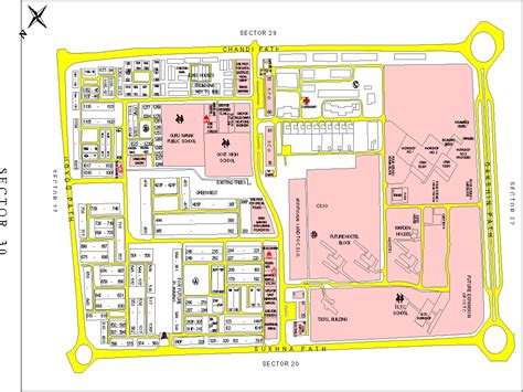 layout plan sector 30 pinjore chandigarh maps special weapons facilities