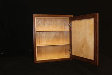 custom medicine cabinets for bathrooms handmade custom medicine cabinet by r j hoppe inc