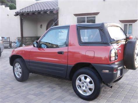 Toyota Rav4 2dr For Sale Sell Used 1998 Toyota Rav4 Base Sport Utility 2 Door 2 0l