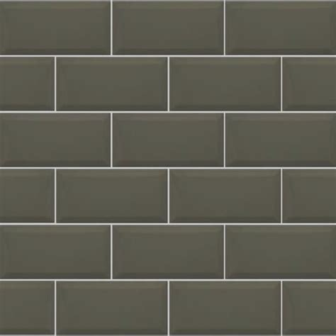 bevel brick white is a white gloss bevel edge wall tile by 10x20cm metro bevelled brick dark grey tile biselado
