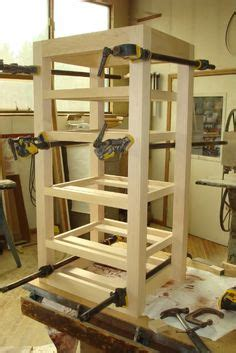besta hifi rack maple stereo rack with all thread rods and finish