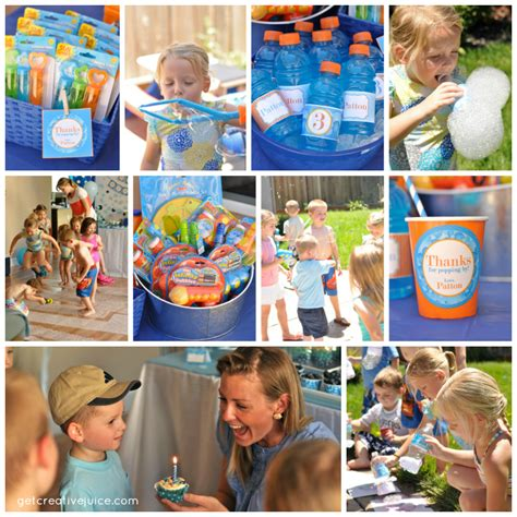 birthday themes games my parties bubble birthday party 2 creative juice