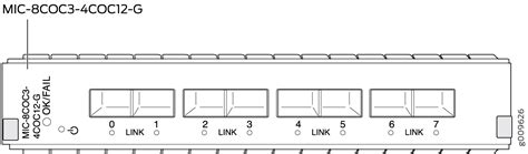Juniper Multi Rate Sonet Sfp Channelized Sonet Sdh Oc3 Stm1 Multi Rate Mics With Sfp