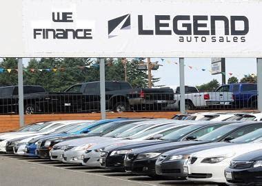 legend auto sales dealership  burien wa carfax