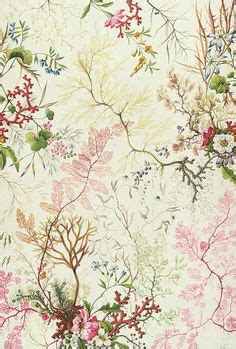 Wandgestaltungen Mit Farbe 3602 by William Kilburn Flowers Design For Silk Material
