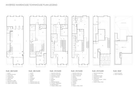 warehouse floor plan design gallery of inverted warehouse townhouse dean wolf