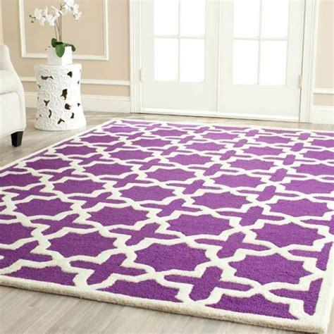 purple rug from joss lusting purple