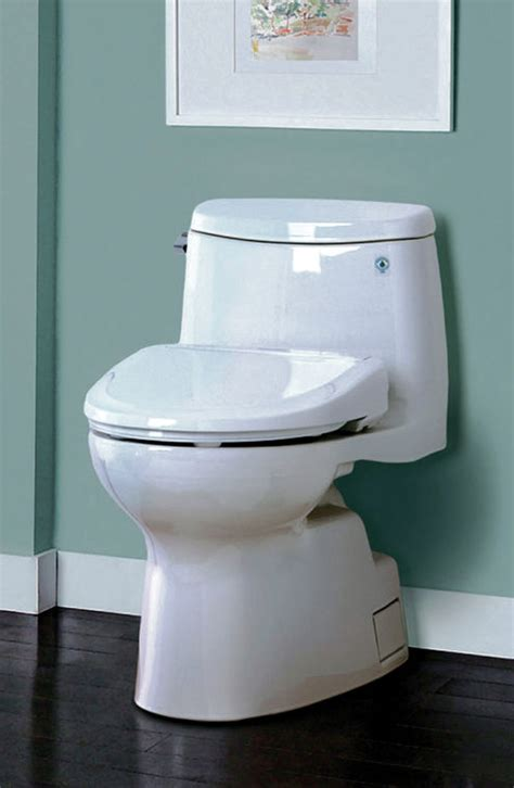 Toilet No Plumbing Required by High Tech Toilet Seats No Or Paper Required