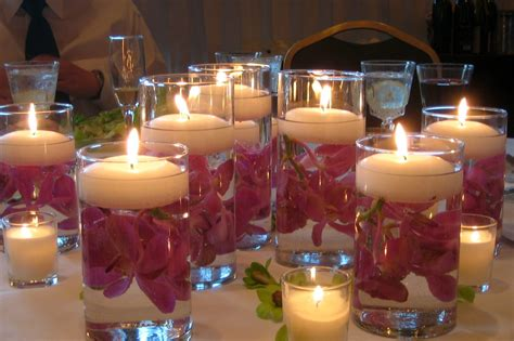 candles for centerpieces for wedding receptions candle wedding images bloguez
