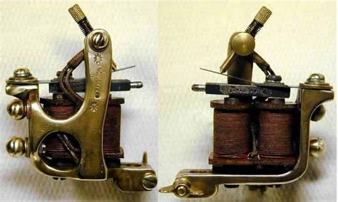 tattoo tattoo machine hand made brass tattoo machine j