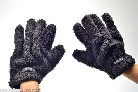 Hair Dryer Glove eco friendly gloves made from hi tech microfibres that