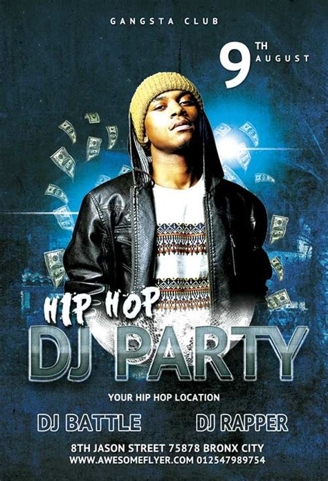 Dj Event Poster Templates Free 15 free club flyer templates