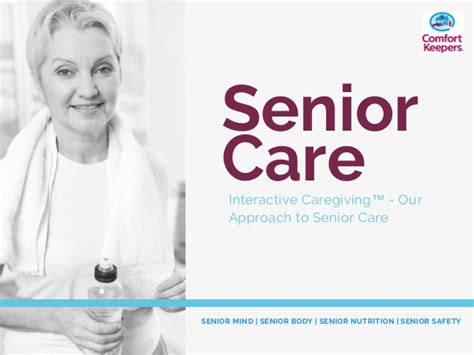 comfort care security comfort keepers senior care