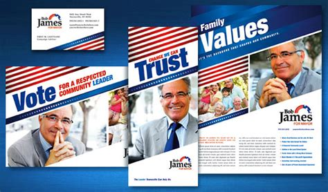 election brochure template election marketing 171 graphic design ideas inspiration