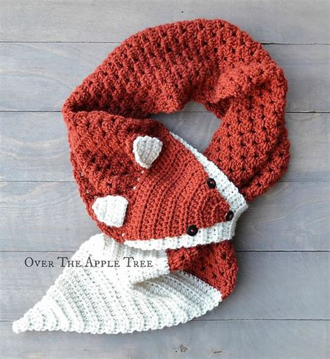 Fox Scarf best 25 fox scarf ideas on knitting projects