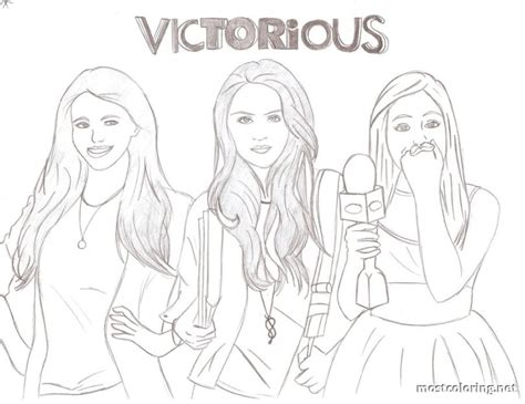 Victorious Coloring Pages Printable | free printable coloring pages for victorious az coloring