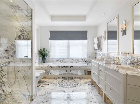 bathroom ideas gray shade marble bathtub wall surround gray roman shade mirrored tub surround
