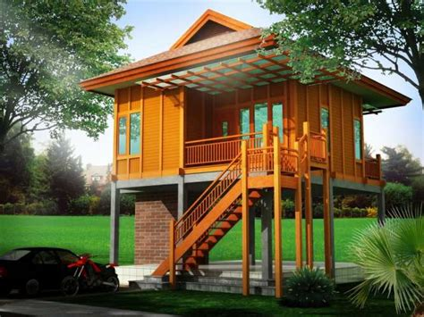 desain rumah panggung beton gambar desain teras rumah panggung contoh z