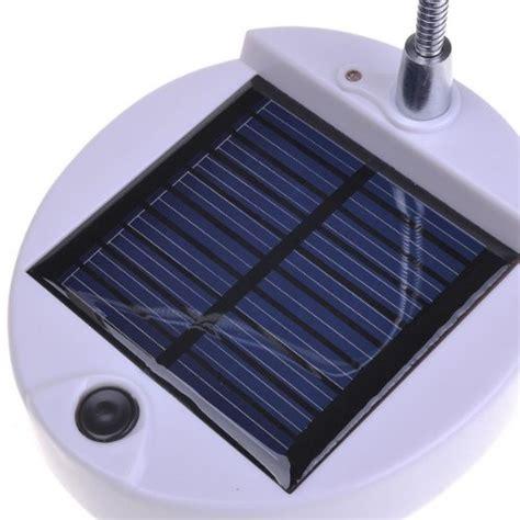 solar powered reading light solar power desktop 4 led reading l light s