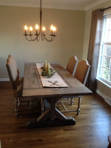 buy a crafted fancy x farmhouse table with extensions