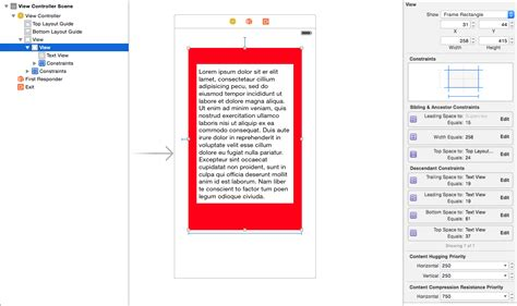 auto layout uitextview height ios how to change uiview s height using auto layout