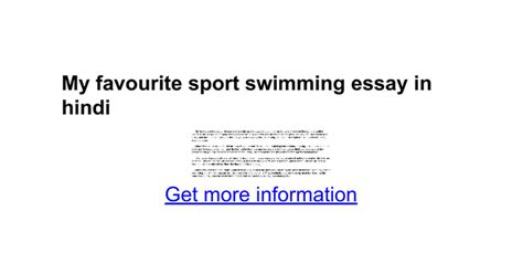 My Favourite Sport Essay by Essay My Favourite Sport Essay On Sports And In Urdu