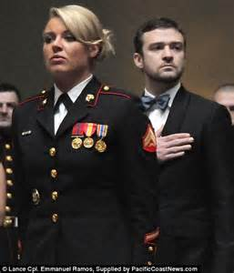 female regulations marine corps presentation justin timberlake fights back tears as he joins youtube