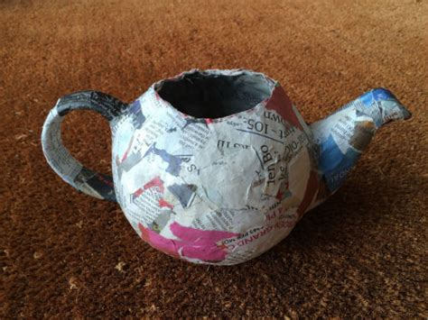 How To Make A Paper Teapot - by heywood