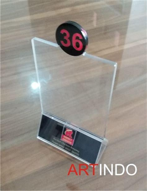 Jual Cermin Lembaran category nomor meja acrylic akrilik acrylic display