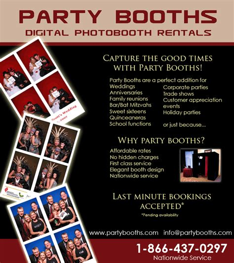 Flyer 4 Photo Booth Pinterest Photo Booth Photo Booth Brochure Template