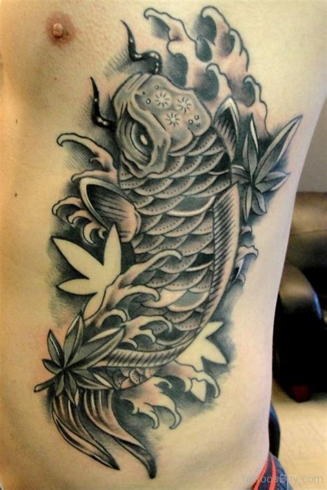 koi tattoo on ribs rib tattoos tattoo designs tattoo pictures page 24