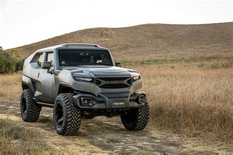 most rugged suv the rezvani tank is a seriously rugged 500hp suv