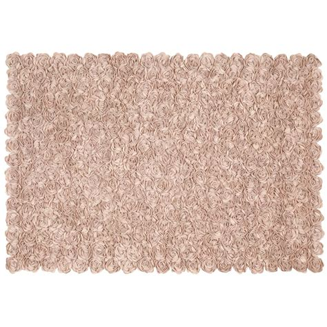 chic rugs 5 x 8 rosy chic rug pink the land of nod