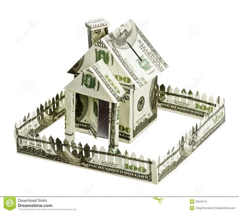 house made house made of money stock image image 25945111