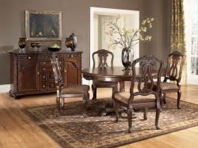 ashley dining room sets buy north shore round dining room set by millennium from