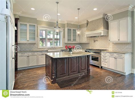 granite islands kitchen kitchen with granite island stock images image 13174144