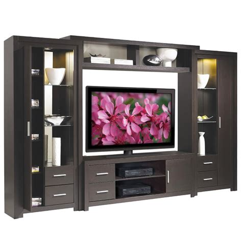entertainment shelving units chrystie entertainment center interior lights glass